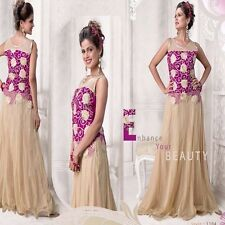 BOLLYWOOD ANARKALI DESIGNER SALWAR KAMEEZ INDIAN ETHNIC PAKISTANI SALWAR SUIT