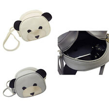 1Pcs Girl's Women Handbags PU Leather Messenger bag Shoulder Bag Cute bear face