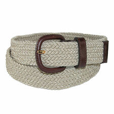 New Aquarius Men's Elastic Stretch Belt with End Tabs (Big & Tall Available)