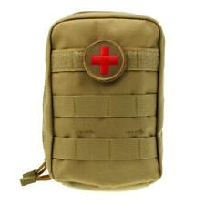 First Aid Tactical EMT Pouch Water Resistant Nylon Military Molle Utility Pouch