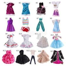 Fashion Doll Dress Clothes Gown Outfit Skirt Suit for Barbie Doll Jenny Doll