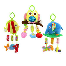 Infant baby eyes hands training mobile music rattles stroller bed hanging toys