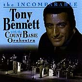 The Incomparable Tony Bennett With The Count Basie Orchestra 10 Track CD