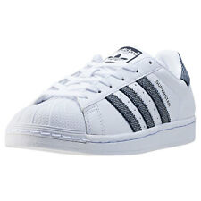 adidas Superstar W Womens Trainers White Black New Shoes