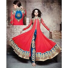 BOLLYWOOD DESIGNER PAKISTANI ETHNIC SALWAR SUIT CLOTH INDIAN SALWAR KAMEEZ SUIT
