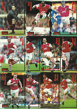 Merlin Ultimate Football Cards 1995/96 Complete Team Base Sets FREE UK P&P