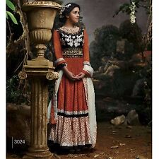 DESIGNER ANARKALI SALWAR KAMEEZ ETHNIC INDIAN PAKISTANI SUIT BOLLYWOOD SALWAR