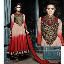 BOLLYWOOD ETHNIC ANARKALI SALWAR KAMEEZ DESIGNER PAKISTANI INDIAN SALWAR SUIT