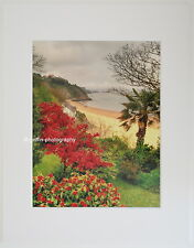 """Tenby """"Northbeach to Monkstone Point"""" Limited Edition Mounted  Print"""