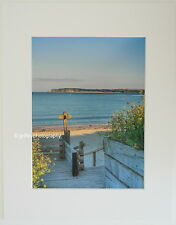 """Tenby """"View to Caldey Island"""" Limited Edition Mounted Photographic Print"""