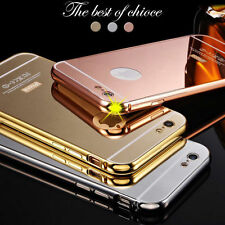 Luxury Aluminum Ultra-thin Mirror Metal Case Cover For Apple iPhone 6S & 6S Plus