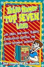 Bible Humor Top Seven Lists by Dave Veerman & Rich Anderson (Paperback) NEW
