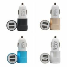 Universal 2.1A Car Charger 2 Port Mini Dual USB Car Charger Adapter for Mobile