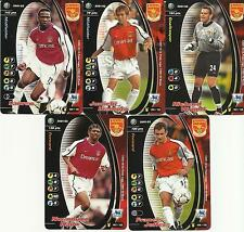 Wizards Football Cards 2001/02 Title Race Complete Team Base Sets FREE UK P&P