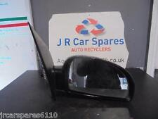 2002 - 2006 HYUNDAI GETZ 3DR O/S DRIVERS SIDE ELECTRIC WING MIRROR IN BLACK