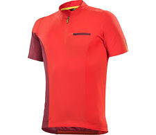 Mavic Crossmax XA Pro Short sleeve Cycling jersey MTB/BIKE Man orange/red 2017