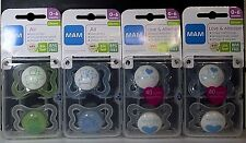 """MaM""_Original** Start**/Air** Boys Silicone /Latex(0-2m/0-6m/6+m/16+m)Pacifiers"