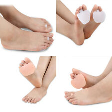 Silicone Forefoot Shoe-Pad Metatarsal Ball Insole Foot Pads Toe Pain Gel Cushion