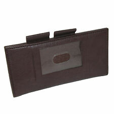 Leather ID Checkbook Cover and Card Holder