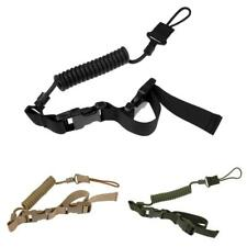 Backpack Connection Buckle Lanyard Sling Elastic Safe Belt Spring Webbing MOLLE