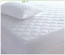 New Luxury Waterproof Quilted Matress Protector fitted sheet / Pillow protector