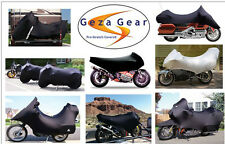 Geza Gear Pro-Stretch Custom Fit Motorcycle half cover Weather Buster TOWABLE