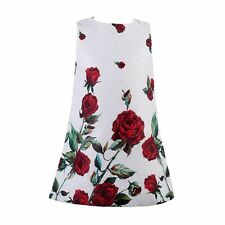 Baby Girls Dresses Kids Clothes 2015 Brand Children Dress for Girls Clothes Rose