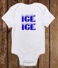 Ice Ice Baby Onesie Funny Gerber unisex baby clothes - Baby Shower Gift Boy Girl