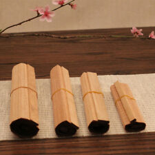 3x Rectangle Bamboo Placemats Table Mats Coasters Non-slip New 3 Sizes