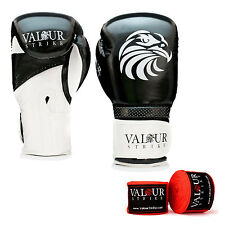Pro Boxing Gloves Hand Wraps 4oz - 16oz Punch Bag Sparring Fight MMA Muay Thai