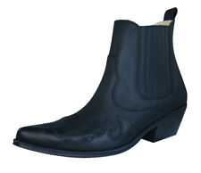 Johnny Bulls Sprinter Mens Leather Ankle Boots - Black - 9636M