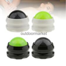 Self Massage Therapy Roller Ball Body Neck Back Relax SPA Lotion Oil Massager