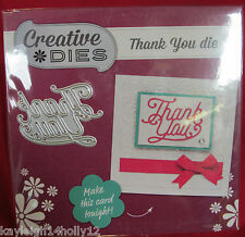 CREATIVE DIES~THANK YOU CRAFT DIE~LUXURY DIE~CARDS~SCRAPBOOKING~CARD MAKING~