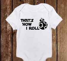 That's How I Roll Star Wars BB-8 Droid Baby Clothes Girl/Boy Unisex onesie Gift