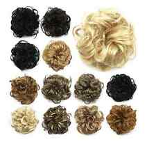 Stylish Womens Pony Tail Scrunchie Clip in Hair Bun Hairpiece Hair Extension Hot