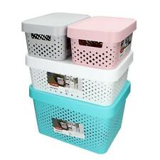 Curver Storage Box with Lid Various Sizes Colours Decor Box Ordering Box Box