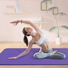 Yoga Mat Gym Exercise Extra Thick Non Slip Fitness Pilates Physio Aerobic Soft