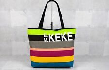 Casual Canvas Large Capacity Printing Shoulder Beach Bag For Women