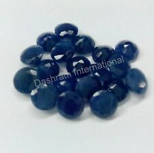 Natural Blue Sapphire Round 3mm - 10mm Calibrated Size Precious Loose Gemstone