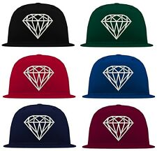 Original Schwarzmarkt Diamond 5 Panel Snapback Cap bulls kings obey dope xo
