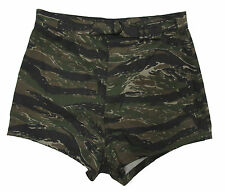 Vietnam Tiger Stripe UDT Shorts - Underwater Demolition Teams - Navy Swim Shorts
