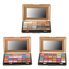 Pro 24 Color Eye Shadow Makeup Shimmer Matte Pigment Eyeshadow Palette Brush