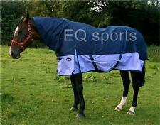 """FAST P&P Knight Rider Light Weight Turnout Rug Full Neck 3'0""""- 4'3"""" Pony/Foal !!"""