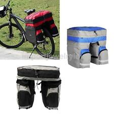 Bicycle Bag Double Side Panniers Rear Rack Cycling Pouch Bike Carrying Pouch