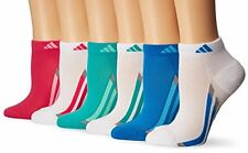 Agron Socks adidas Girls Cushioned Low Cut (6 Pack)- Pick SZ/Color.