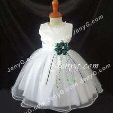 NLGN7 Baby Girls Holiday Cocktail Birthday Party Pageant Graduation Dress Gown