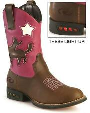 Roper Toddler-Girls' Light Up Bronco Cowgirl Boot - 09-017-1201-1206