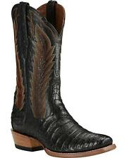 Ariat Men's Turnback Caiman Belly Cowboy Boot Square Toe - 10018714
