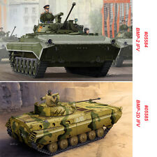 Trumpeter 05584 05585 1/35 Scale Russian BMP-2/BMP-2D IFV Assembly Model Kits