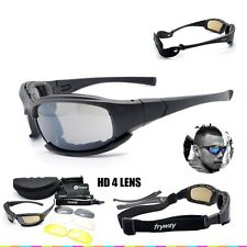 Men Military Eyewear Glasses Bullet Proof Army Hunting Tactical Airsoft Goggles